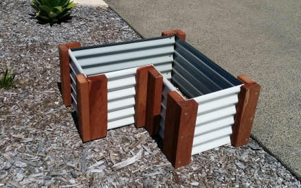 Custom Raised Garden Bed