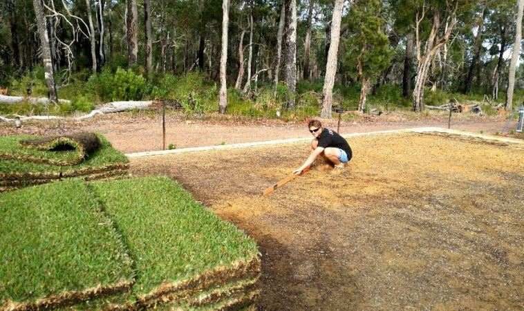 Laying new lawn by Surfscape Garden Care
